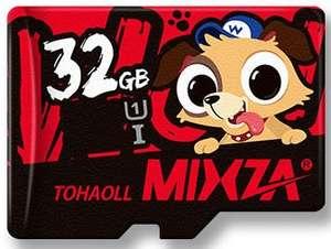 Carte microSDHC Mizka Edition limitée DOG U1 - 32 Go