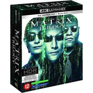Coffret Blu-ray Matrix - La Trilogie en 4K UHD