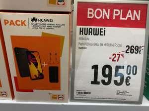 "Pack smartphone 5.84"" Huawei P20 Lite (full HD+, Kirin 659, 4 Go RAM, 64 Go) + écouteurs Huawei AM61 + étui de protection - Strasbourg (67)"