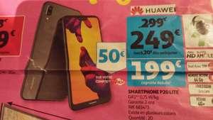 """Smartphone 5.8"""" Huawei P20 Lite - 64 Go (via 50 € sur la carte Waaoh) - Mâcon (71)"""