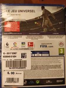 FIFA 18 sur PS4 - Trie-Château (60)