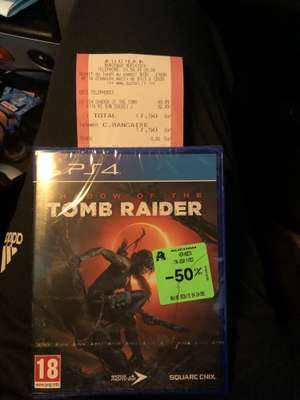 Shadow of the Tomb Raider sur PS4 - Bordeaux Meriadeck (33)
