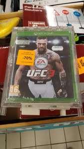 Jusqu'à 90% de réduction sur une sélection de jeux PS4 & Xbox One - Ex : UFC3 sur Xbox One - Villeneuve-d'Ascq (59)
