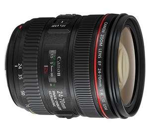 Objectif Canon 24-70 F4 IS USM 'via ODR 200€)