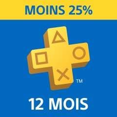 [Non abonnés] Abonnement de 12 Mois au PlayStation plus (Dématérialisé)