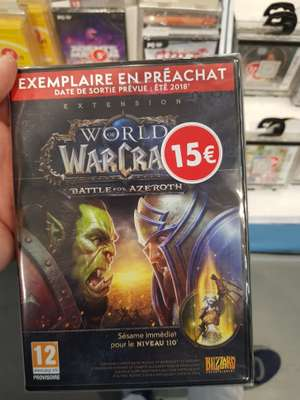 Extention WoW Battle For Azeroth - Mérignac Soleil (33)