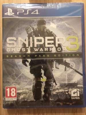 Sniper 3 Ghost Warrior sur PS4 - Season pass edition - Lyon Part Dieu (69)