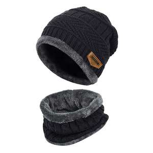 Lot bonnet + tour de cou doublure intérieure polaire enfant Vbiger (vendeur tiers)