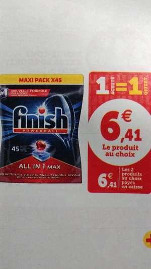 Lot de 2 paquets de 45 tablettes Finish All-in-1 Max - 2x45