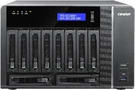 Serveur de Stockage NAS QNAP TVS-EC1080+  - 10 Baies sans Disque (Frontaliers Suisse - galaxus.ch)
