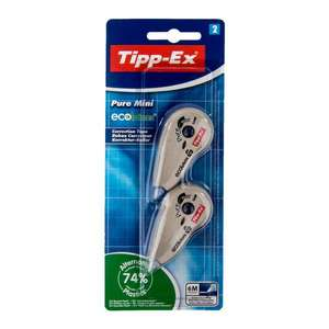 Lot de 2 rubans correcteur TIPP-EX - 6m (Frontaliers Belgique)
