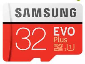 Carte microSDHC Samsung Evo+ - 32 Go, Classe 10 (via l'application)