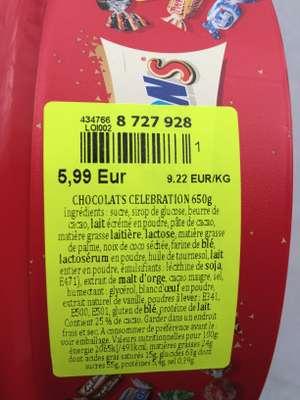 Boîte de chocolats Celebrations (650 gr) - Cholet (49)