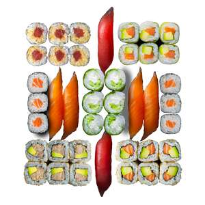 Sushi Box - 42 pièces (tous les mercredis)