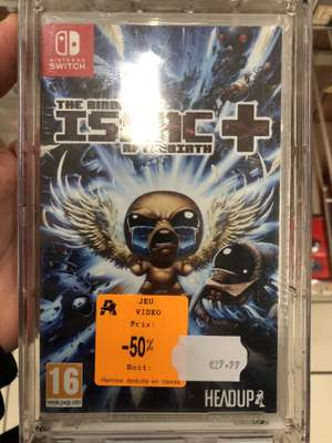 Jeu The Binding Of Isaac Afterbirth + sur Nintendo Switch - Auchan du Mans (72)