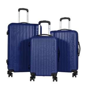 Lot de 3 valises rigides Lulu Castagnette - 55,66 et 76 cm