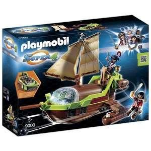 Jouet Playmobil 9000 Super 4 Bateau Pirate Caméléon avec Ruby - Lorient (56)
