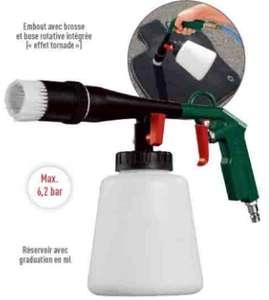 Pistolet nettoyage pneumatique - 6.2 bar max