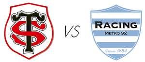Billet pour Match de Rugby du Top 14 Racing 92 vs Toulouse (Catégorie 4) - Paris La Défense Arena