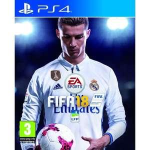 Jeu Fifa 18 sur PS4