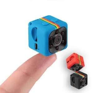 Mini Caméra SQ11 - Full HD 1080p, Vision nocturne, Détection de mouvement (Plusieurs coloris)