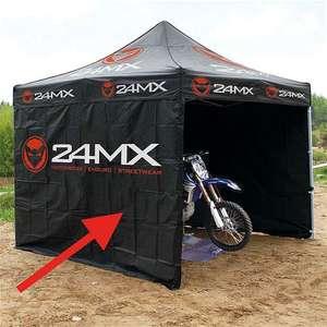 Sélection de tentes Paddock 24MX en promotion - Ex: Tente paddock / Tonnelle 24MX Race 3X3M Easy-Up avec 3 cloisons