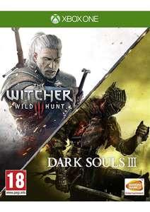 Jeu The Witcher 3 Wild Hunt+ Dark Souls 3 sur Xbox one
