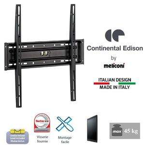 """Support TV Fixe Continental Edison 40-65"""" (+Éventuelle Offre Spéciale)"""