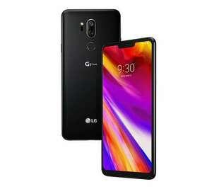 """Smartphone 6,1"""" LG G7 ThinQ - SnapDragon 845 - 4 Go de RAM, 64 Go de stockage, Bleu"""