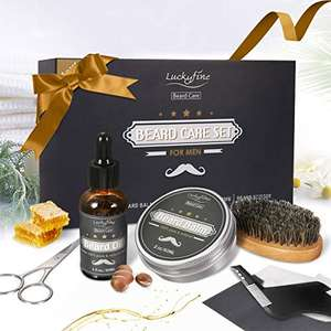 Kit 5 pièces de soin pour barbe Luckyfine (vendeur tiers)