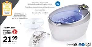 Nettoyeur à ultrasons Silvercrest - Blanc