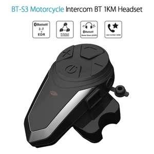 Intercom pour Moto Bluetooth BT-S3