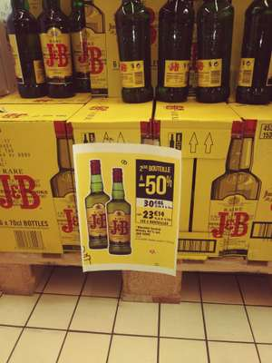 Lot de 2 bouteilles de Whisky J&B Rare (2 x 70 cl) - Courrières (62)