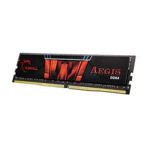 Barrette de Mémoire RAM G.Skill Aegis DDR4 3000 Mhz - 16 go CL16