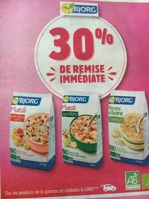 Sélection d'articles et d'offres promotionnelles - Ex : 30% de réduction sur les produits de la gamme Bjorg - Gallardon (28)
