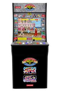 Arcade1UP Street Fighter II: Champion Edition, Street Fighter II: The New Challengers, Street Fighter II: Turbo