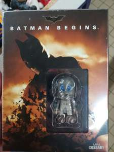 Coffret Blu-ray Batman Begins Collector (avec mini-figurine Cosbaby) - Gournay-en-Bray (76)