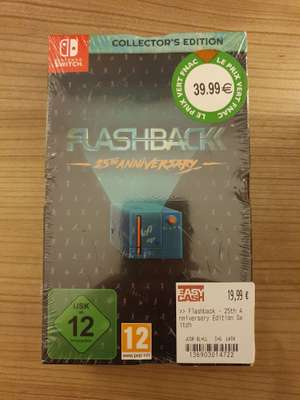 Flashback - 25th Anniversary sur Nintendo Switch (Bonneuil 94)