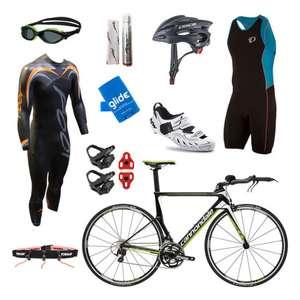 Pack triathlon complet - Cannondale Slice 105, Northwave Tri-Sonic Triathlon, Pearl Izumi Elite Pursuit Tri (triuk.com)