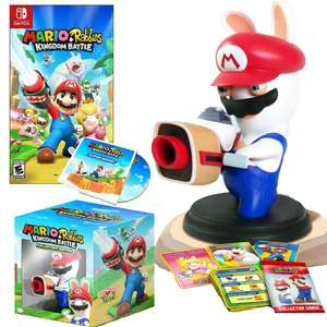 Mario & Rabbids Kingdom Battle Collectors Edition sur Nintendo Switch (Frontaliers Allemagne)