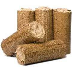 Lot de 5 Bûches de bois densifié