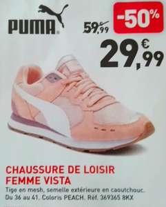 Chaussures Femme Puma Vista - Rose/Blanc