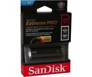 [Prime DE] Clé USB 3.1 Sandisk Extreme PRO - 256 Go