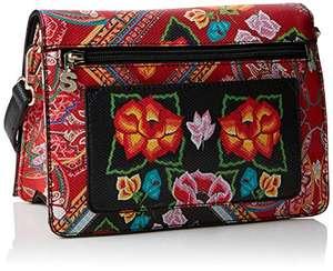 Sacs bandoulière Desigual Bag Folklore Cards Imperia pour femme, Rouge