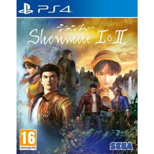 Shenmue I & II sur PS4 / Xbox One (Via l'Application)