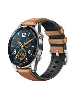 Montre connectée GPS Huawei Watch GT - Marron