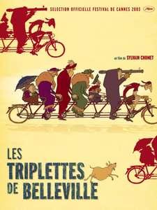 Film d'Animation Les Triplettes de Belleville visionnable Gratuitement en Streaming (Dématérialisé)