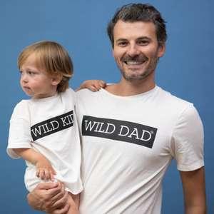 T-shirt Wild Dad + T-shirt Wild Kid