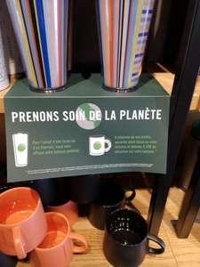 Une boisson offerte pour l'achat d'une tasse ou d'un thermos - La Vallée Village Serris (77)