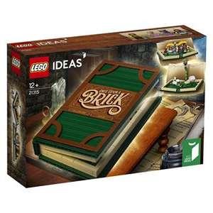 Sélection de jeux de construction Lego en promotion - Ex: Lego Ideas -  Livre pop-up (21315)